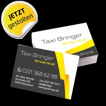 Visitenkarte Taxi - Alex
