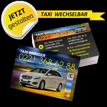 Visitenkarte Taxi - Leon