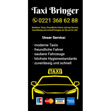 Taxi Hinweissschild Schulbustafel