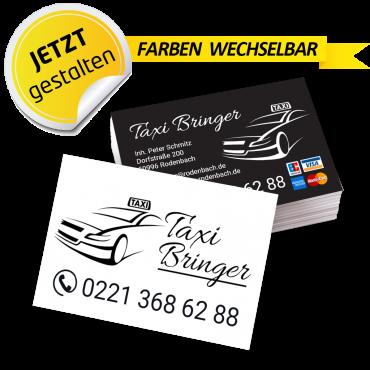 Visitenkarte Taxi - Feo