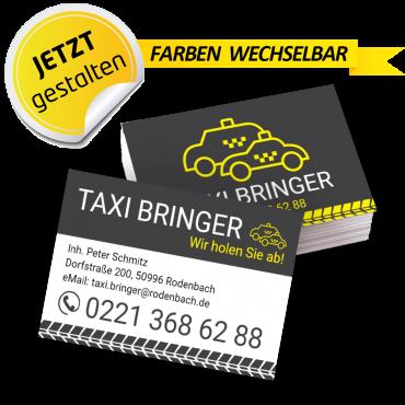 Visitenkarte Taxi - Arnold