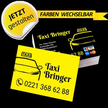 Visitenkarte Taxi - Feodor