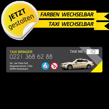 Betriebssitz-Schild Taxi -...