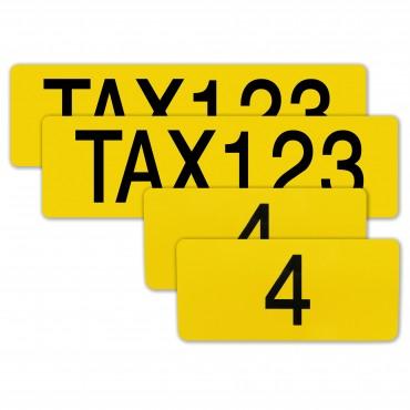 Taxi Ordnungsnummer -...