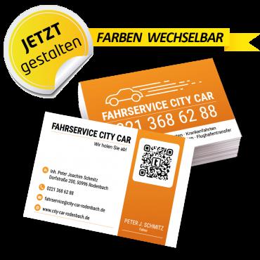 Visitenkarte Mietwagen - Armin