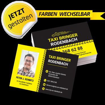 Visitenkarte Taxi - Frederick
