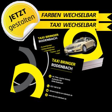 Visitenkarte Taxi - Oskar