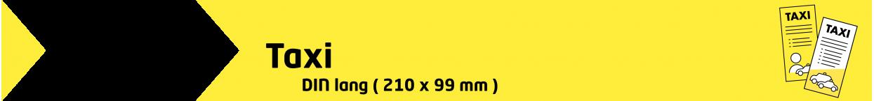 Flyer DIN-Lang TAXI | taxidrucksachen.de