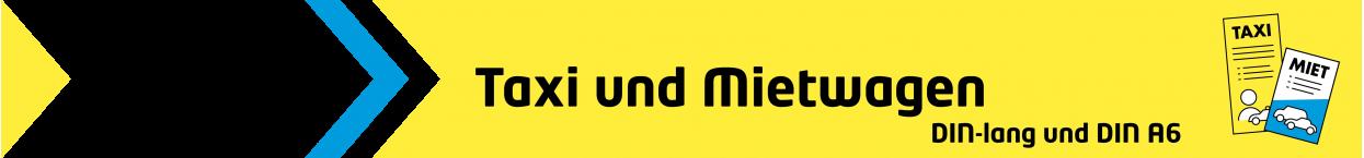 Flyer TAXI | taxidrucksachen.de